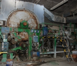 2040 mm Deckle MG Tissue Paper Machine in need of