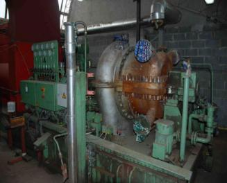 Tuthill Nadrowski 2 MW Steam Turbine