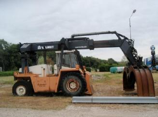 Valmet RTD 810 log wood handling truck SOLD