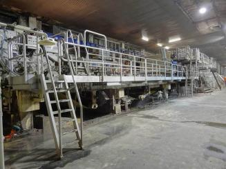 2700 mm deckle Twin Wire Paper Machine SOLD