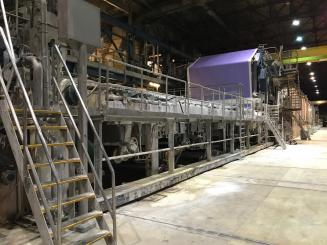 5.0 m Deckle Paper Machine - Ideal for conversion to make Coated Packaging Grades