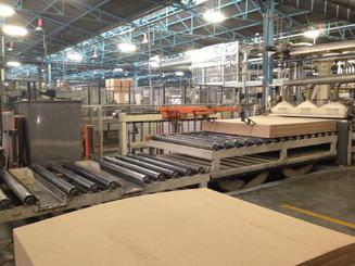 Wemhoner Laminate Flooring Line SOLD