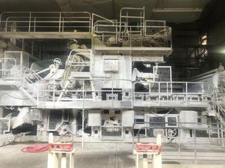 3600mm Complete Paper Machine suitable for P and W or conversion to Packaging Papers